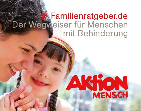 Der Familienratgeber der Aktion Mensch ist die Plattform für Familien, Menschen mit Behinderungen, Ihre Angehörigen und die sie betreuenden Stellen.